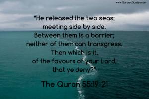 and universe the quran 55 19 21 surah ar rahman