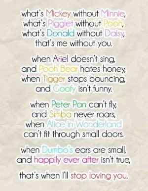Disney Quotes About Love Love quote