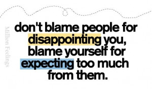 disappointment quotes sayings postboard view full details at quotes ...