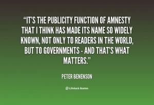 quotes of peter benenson peter benenson photos peter benenson quotes