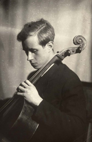 Mstislav Rostropovich, Moses Nappelbaum (1869-1958), ca. 1950