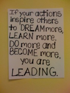 Be a leader, leadership quotes, inspire others, management quotes ...