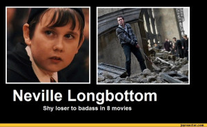 neville longbottom from the harry potter series neville is