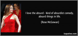 More Rose McGowan Quotes