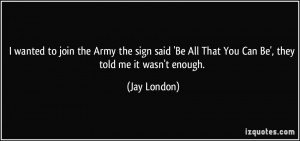 More Jay London Quotes