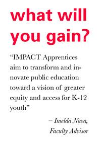Apply to the IMPACT Urban Teacher Residency program now!