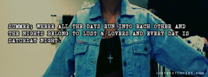 Cute Summer Quotes For Facebook Albums All days facebook cover