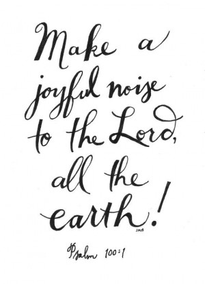 Joyful Noise by heytheredesign, $10.00
