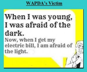 ... electric bill I am afraid of the light - Funny WAPDA Load shedding and