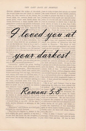 Print – Vintage Art Book Bible Verse Quote Dictionary