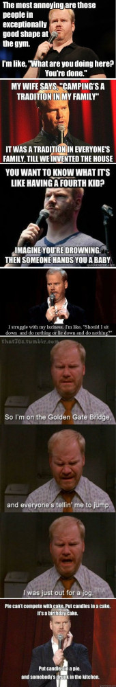 Funny Jim Gaffigan Picture Quote Gallery