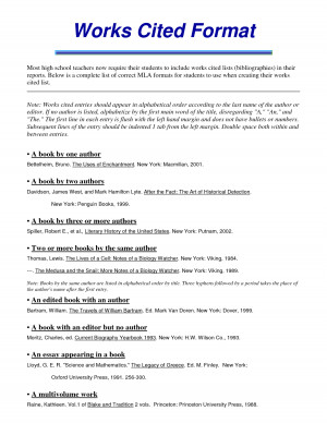 mla format works cited movie About mla how to format in-text citations how to format the works-cited list how do i deal with ___ examples: books, chapters examples: articles examples: web, blogs, social media examples: music, film, tv, images examples: government documents examples: unpublished/archival.