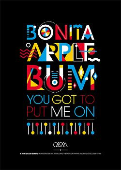 TRIBE CALLED QUEST TRIBUTE Graphic conception of 3 posters about ...