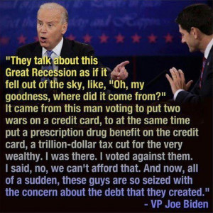 war Economy Election 2012 Recession Vice President joe biden ...