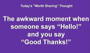 the awkward moment when quotes