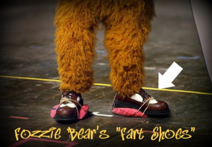 Make a Pair of Fart Shoes like Fozzie Bears