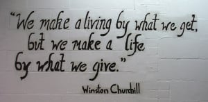 This Winston Churchill quote is one of many I enjoyed while working at ...