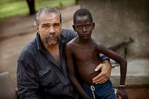 sam childers in southern sudan sam childers is a hard