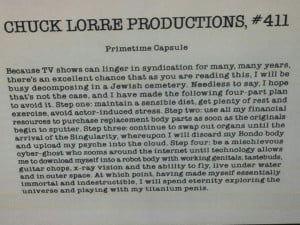 Chuck Lorre Productions #411