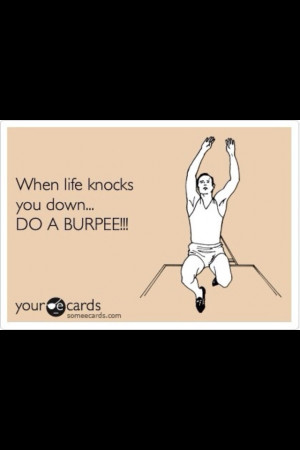 Fit quote #burpee #exercise #workout #funny #fitness #inspiration
