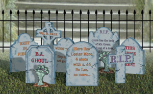 tombstones Scary Tombstone Sayings For Halloween