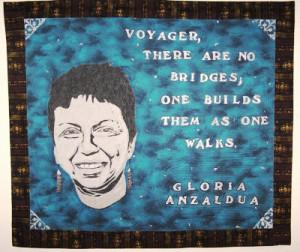 Anzaldúa was a chicana activist.