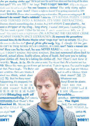 DOCTOR WHO] Rory Williams Quotes This was done awhile ago... the ...
