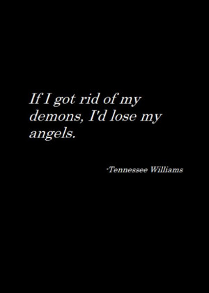 Love this Tennessee Williams quote   Author Quotes