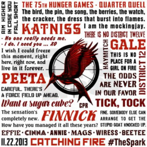 Catching Fire Quotes And Sayings ~ Catching Fire Quotes [d] Can ...
