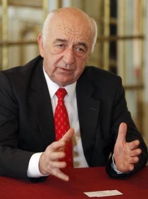 Jean Francois Henin, Chairman of Maurel & Prom, speaks during an ...