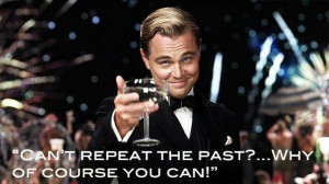 The great Gatsby. Movie quote