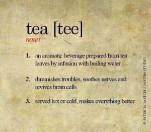 Definition of Tea