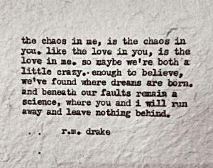 drake Bless this crazy love ♡ Love Rmdrake, Rmdrake Quotes ...