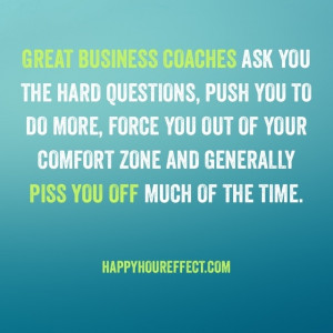coach do for me that I can't do for myself? I mean, I AM a coach ...