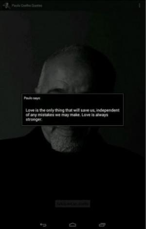 ... grande - Captura de pantalla de Citas de Paulo Coelho para Android