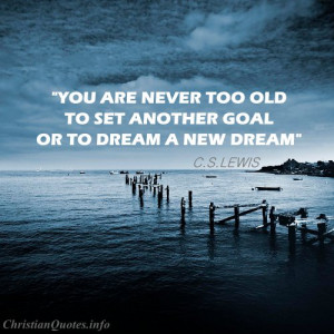 Lewis Quote – Another Goal