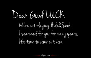 30+ Excellent Good Luck Quotes
