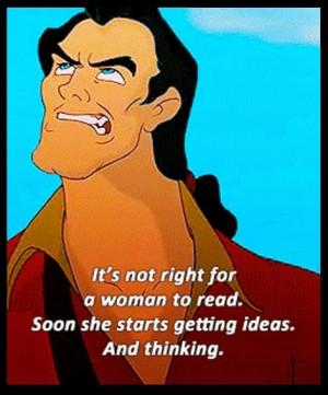 Disney Villain: Gaston Inspired Makeup