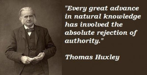 Thomas huxley famous quotes 5