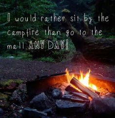 we agree more bonfires camps outdoor campers most popular country ...