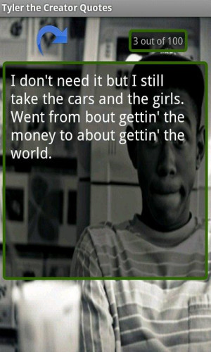 Tyler the Creator Quotes - screenshot