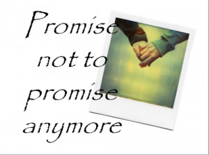 Pinky promise...