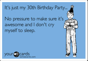 30th Birthday Quotes Funny ~ Gallery For > 30th Birthday Funny