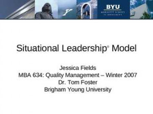 Situational Leadership PowerPoint