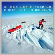 Life Quotes, Positive Quotes, Exploration Dreams, Impossibleisnoth ...