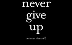 Never Give Up – A Man's Guide to Getting Back Up