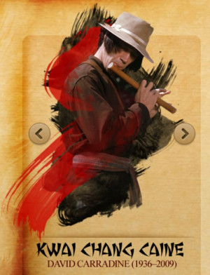 Kung Fu Kwai Chang Caine