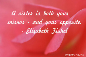 Birthday Quotes for Your Sister