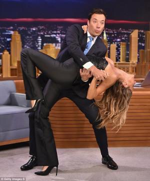 Multi-talented: Gisele Bundchen showed off her dance moves during an ...