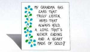 Grandma Magnet - Grandmother quote, Nana, Grammy, Oma, Bubbe,Granny ...